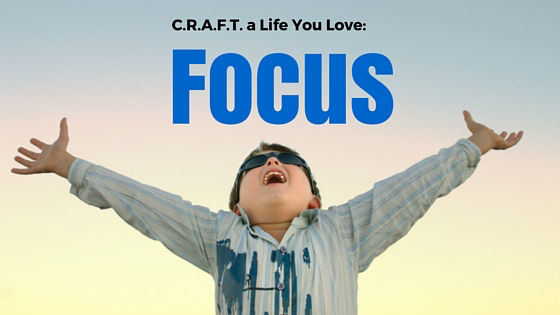 CRAFT a life you Love. 21 Strategies to Stay Focused, Have More Fun and Minimize Fear